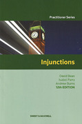Cover of Injunctions