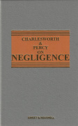 Cover of Charlesworth & Percy on Negligence 13th ed with 1st Supplement