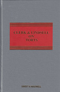 Cover of Clerk & Lindsell On Torts 21st ed with 1st Supplement
