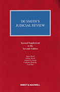 Cover of De Smith's Judicial Review 7th ed: 2nd Supplement
