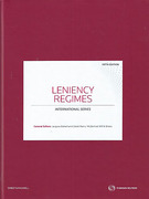 Cover of Leniency Regimes: International Series (Book & eBook Pack)