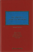 Cover of De Smith's Judicial Review 7th ed with 3rd Supplement