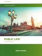 Cover of Public Law Textbook