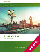 Cover of Public Law Textbook (eBook)