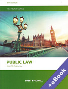 Cover of Public Law Textbook (Book & eBook Pack)