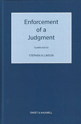 Cover of Enforcement of a Judgment