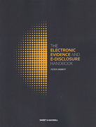 Cover of The Electronic Evidence and E-Disclosure Handbook