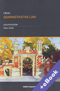 Cover of Administrative Law (Book & eBook Pack)