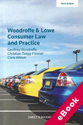 Cover of Woodroffe and Lowe's Consumer Law and Practice (eBook)