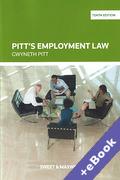 Cover of Pitt's Employment Law (Book & eBook Pack)