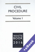 Cover of The White Book Service 2016: Civil Procedure Volumes 1 & 2 (Book & eBook Pack)