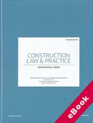 Cover of Construction Law and Practice: International Series (eBook)