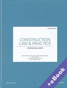 Cover of Construction Law and Practice: International Series (Book & eBook Pack)
