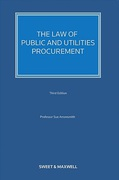 Cover of The Law of Public and Utilities Procurement 3rd ed: Volume 2