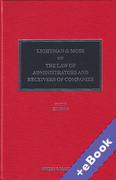 Cover of Lightman & Moss: Law of Administrators and Receivers of Companies (Book & eBook Pack)