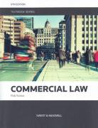 Cover of Commercial Law Textbook