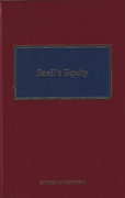 Cover of Snell's Equity 33rd ed with 3rd supplement