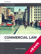 Cover of Commercial Law Textbook (eBook)