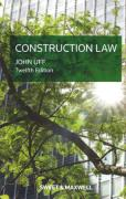 Cover of Construction Law: Law and Practice Relating to the Construction Industry