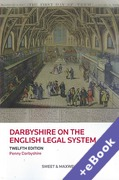 Cover of Darbyshire on the English Legal System (Book & eBook Pack)