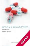 Cover of Medical Law and Ethics (eBook)