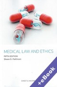 Cover of Medical Law and Ethics (Book & eBook Pack)
