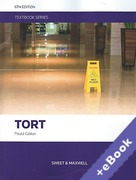 Cover of Tort Textbook (Book & eBook Pack)