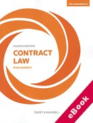 Cover of Contract Law: The Fundamentals (eBook)