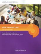 Cover of How to Study Law