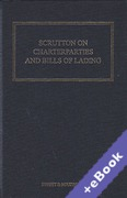 Cover of Scrutton on Charterparties and Bills of Lading 23rd ed with 1st Supplement (Book & eBook Pack)