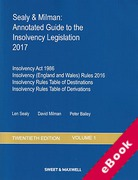 Cover of Sealy & Milman: Annotated Guide to the Insolvency Legislation 2017: Volume 1 (eBook)