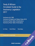 Cover of Sealy & Milman: Annotated Guide to the Insolvency Legislation 2017: Volumes 1 & 2 (Book & eBook Pack)