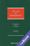 Cover of The Law of Reinsurance in England and Bermuda 4th ed: 1st Supplement (Book & eBook Pack)