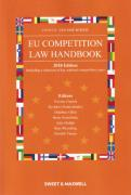 Cover of Jones and Van Der Woude: EU Competition Law Handbook 2018
