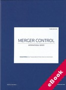 Cover of Merger Control: A Global Guide From Practical Law (eBook)