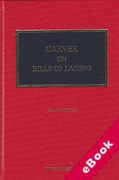 Cover of Carver on Bills of Lading (eBook)