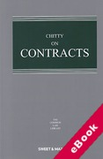 Cover of Chitty on Contracts 32nd ed: 2nd Supplement (eBook)