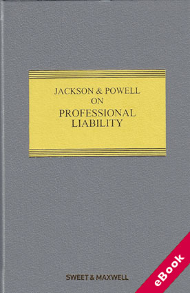 Wildy sons ltd the worlds legal bookshop search results for jackson powell on professional liability 8th ed with 1st supplement ebook fandeluxe Image collections