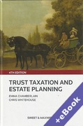 Cover of Trust Taxation and Estate Planning 4th ed with 2nd Supplement (Book & eBook Pack)