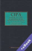 Cover of CIPA Guide to the Patents Acts 8th ed with 2nd Supplement (Book & eBook Pack)