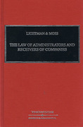Cover of Lightman & Moss: Law of Administrators and Receivers of Companies