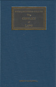 Cover of Dicey, Morris & Collins: The Conflict of Laws 15th ed with 5th Supplement