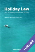Cover of Holiday Law: The Law Relating to Travel and Tourism (Book & eBook Pack)