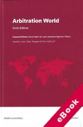 Cover of Arbitration World: Jurisdictional and Institutional Comparisons (eBook)