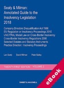 Cover of Sealy & Milman: Annotated Guide to the Insolvency Legislation 2018: Volume 2 (eBook)