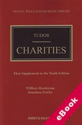 Cover of Tudor on Charities 10th ed: 1st Supplement (eBook)