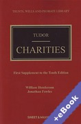 Cover of Tudor on Charities 10th ed: 1st Supplement (Book & eBook Pack)