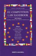 Cover of Jones and Van Der Woude: EU Competition Law Handbook 2019