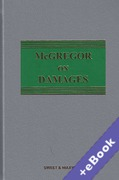 Cover of McGregor on Damages 20th ed with 1st Supplement (Book & eBook Pack)