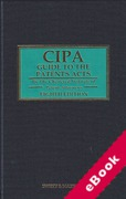 Cover of CIPA Guide to the Patents Acts 8th ed with 3rd Supplement (eBook)